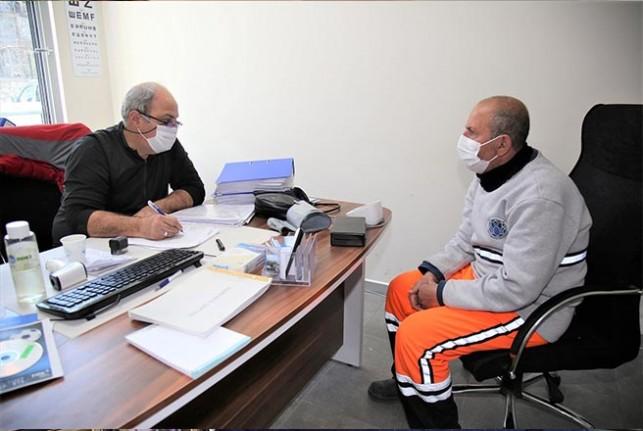 Battalgazi Belediyesi'nde Öncelik İş Sağlığı Ve Güvenliği