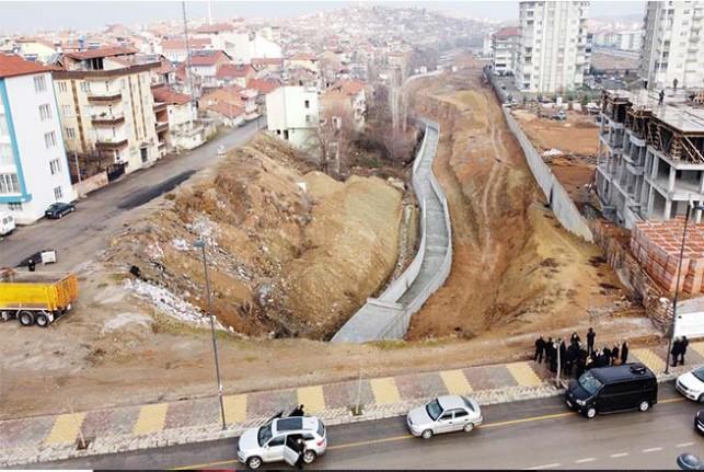 Çevreyolu alt kısmının çehresi baştan aşağı değişiyor