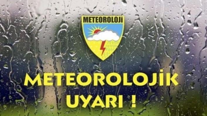 Malatya İçin Yağış Uyarısı