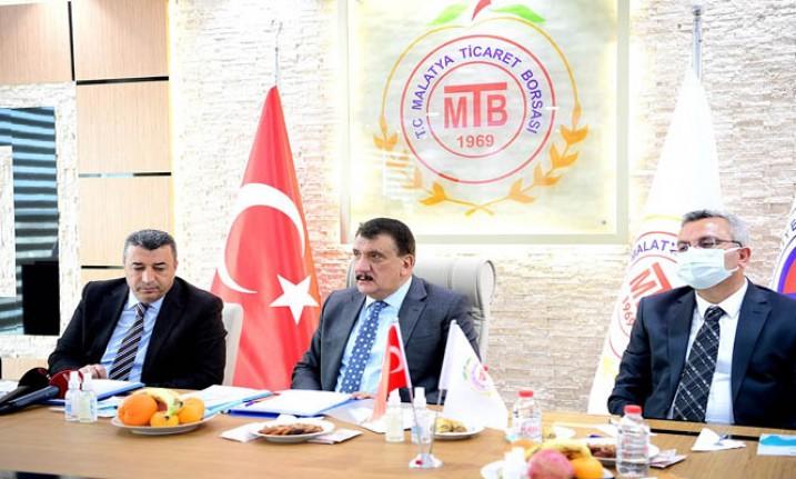 MTB'ye Başkan Gürkan'dan Ziyaret