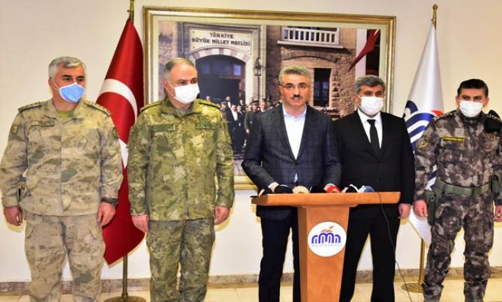 PKK Terör Örgütü Tarafından Şehit Edilen 13 Şehidimiz ile İlgili Basın Açıklaması