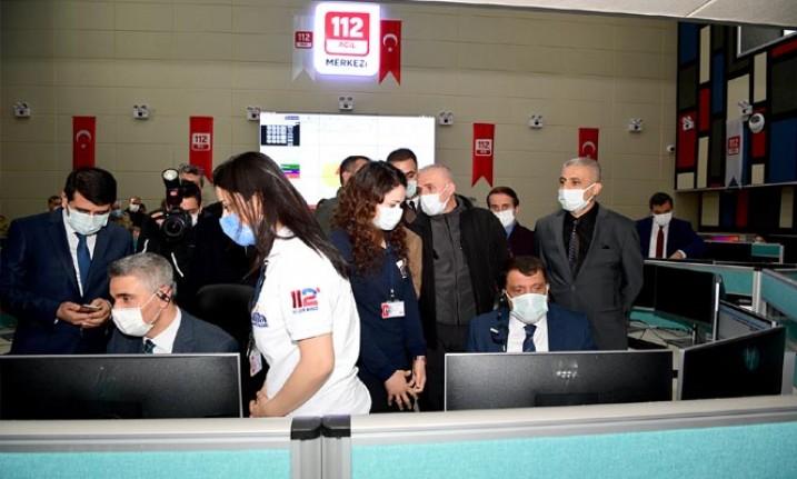 Tüm Acil Arama Servisleri 112 Acil Çağrı Merkezi'nde Birleşti