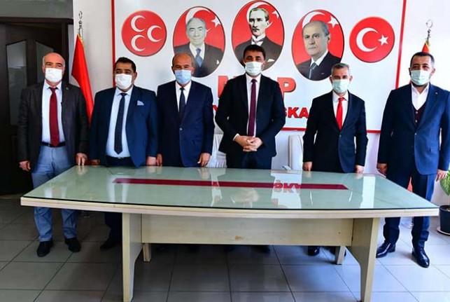 Başkan Çınar'dan MHP'ye Ziyaret