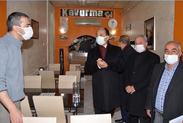 Başkan Keskin, lokantacı esnafını ziyaret etti