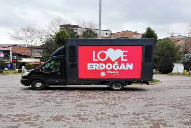 """Battalgazi'den New York'a """"Canımız Erdoğan""""lı Cevap"""