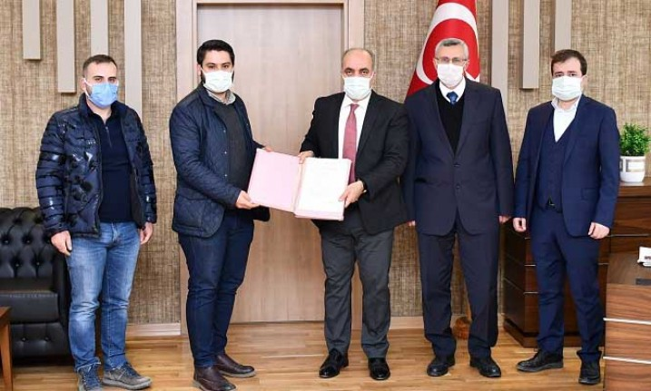 Hekimhan Karadere Göleti Sulama İşi Sözleşmesi İmzalandı