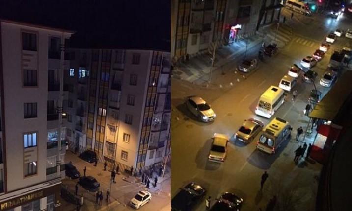 Malatya'da park halindeki otomobile  silahlı saldırı: 1 yaralı