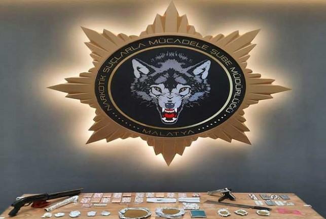 Malatya Merkezli Eş Zamanlı Torbacı Operasyonu: 20 Gözaltı