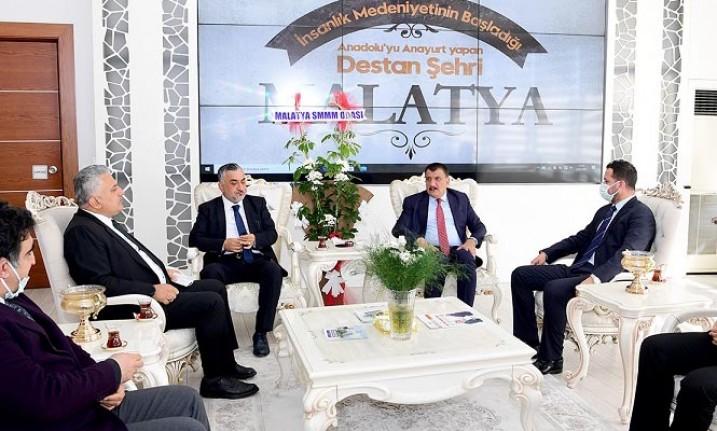 Muhasebeciler Haftası Nedeniyle Başkan Gürkan'a Ziyaret
