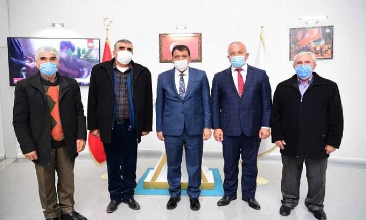 Pir Sultan Abdal Derneği'nden Başkan Gürkan'a Ziyaret