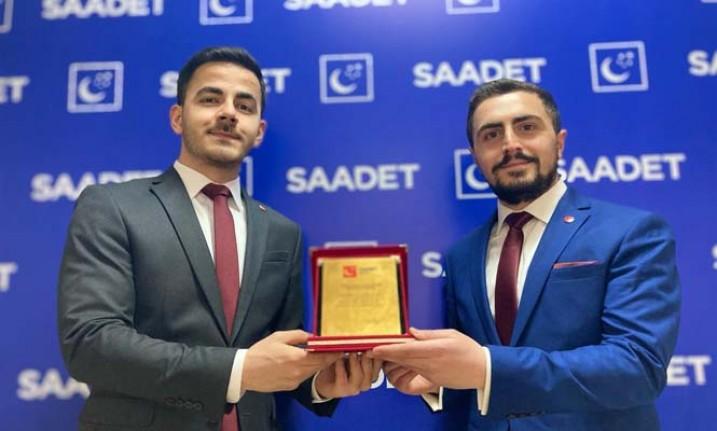 Saadet Partisi Malatya Gençlik Kolları Başkanı Mehmet Sofuoğlu Oldu