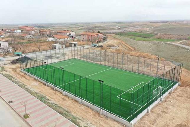 'Tohma Semt Spor Sahası' Projesi Gerçeğe Dönüştü