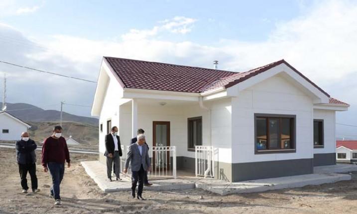 Başkan Güder: 'Bulutlu'daki evlerin teslimi için gün sayıyoruz'