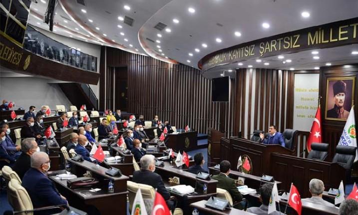 Başkan Gürkan, Belediye Çalışanlarıyla Toplantısı Yaptı