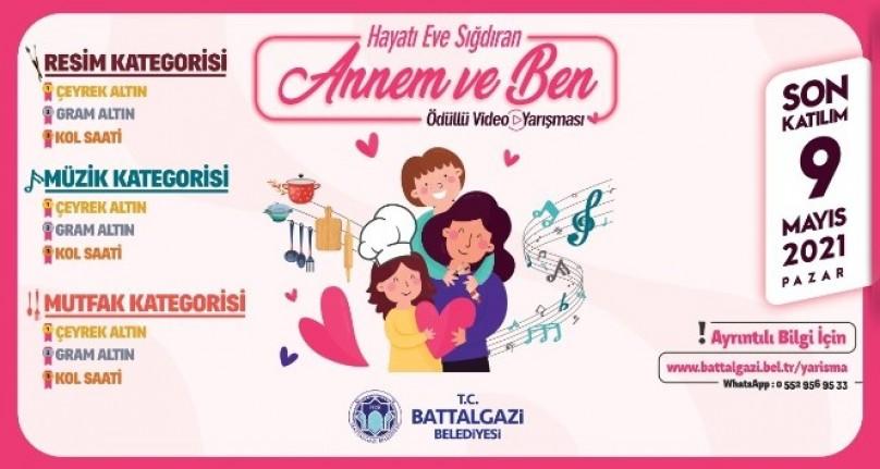 Battalgazi Belediyesi'nden Anneler Günü'ne özel videolu yarışma