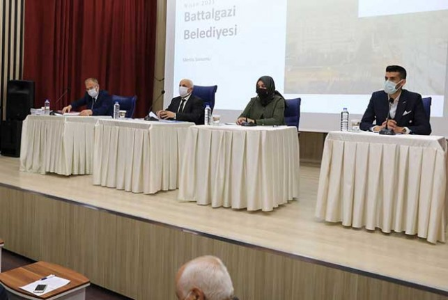 Battalgazi Meclisi, Nisan Ayı Olağan Toplantısı Tamamlandı