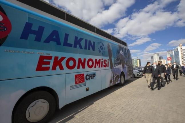 CHP Ekonomi Otobüsü  Malatya'ya Geliyor