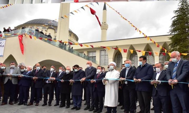 Erbaş, Malatya'da İlahiyat Camisi ve Kütüphanesi'ni Açtı