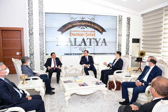 Güney Kore Büyükelçisi Won Ik Lee'den Başkan Gürkan'a Ziyaret