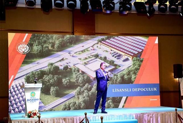 Malatya Büyükşehir Belediye Başkanı Gürkan, İki Yılını Değerlendirdi