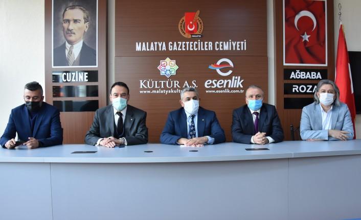 Malatya TSO Başkanı Sadıkoğlu'ndan MGC'ye ziyaret