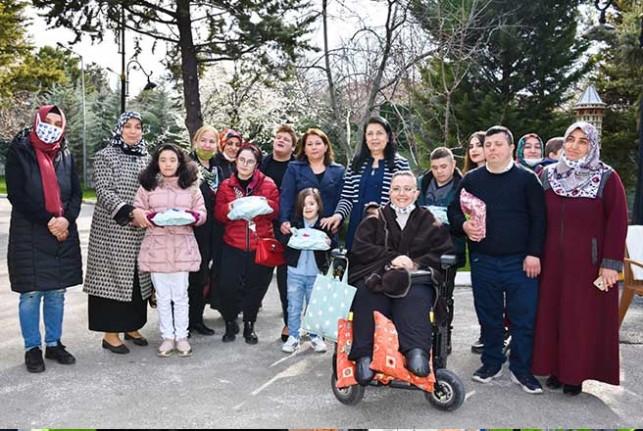 Özel Gereksinimli Çocuklar Gürkan Ailesi'nin Misafiri Oldular