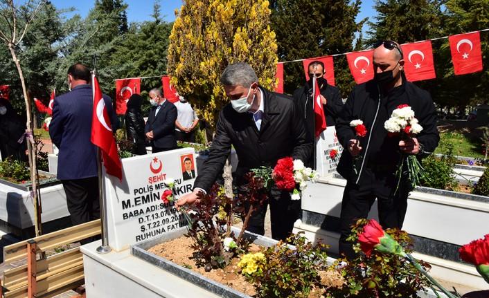 Vali Baruş 10 Nisan Polis Haftası Etkinliklerine Katıldı