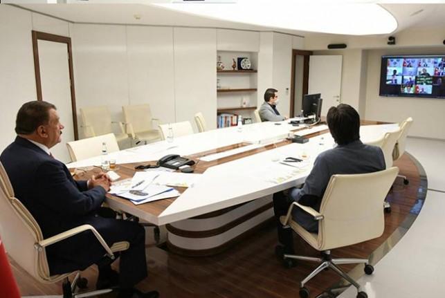 Başkan Gürkan, 'Telafide Ben De Varım' Toplantısına Katıldı