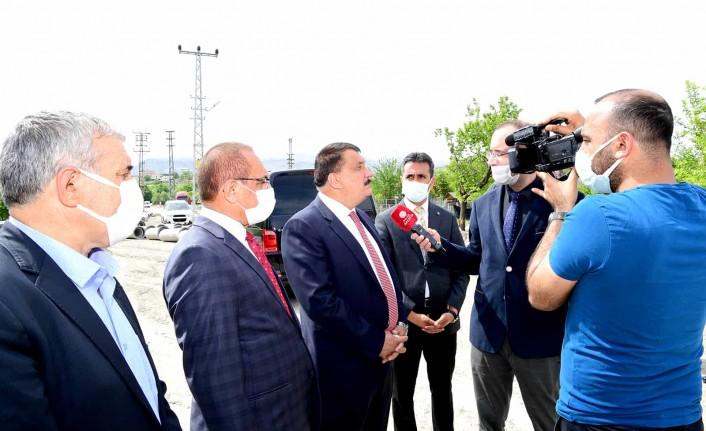 Büyükşehir Belediyesin'den Orduzu'yabir Milyar Tl'lik Yatırım