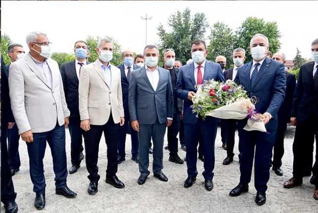 Bakan Yardımcısı Tunç'tan Başkan Gürkan'a Ziyaret