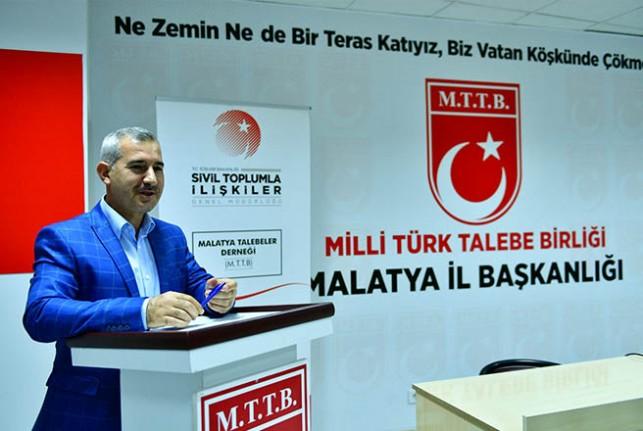 Başkan Çınar, MTTB'nin '15 Temmuz Hain Darbe Girişimi' Programına Katıldı