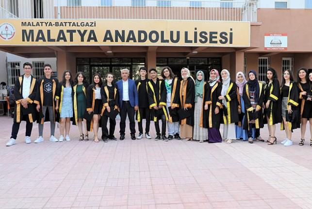 Başkan Güder, Öğrencilerin Heyecanına Ortak Oldu