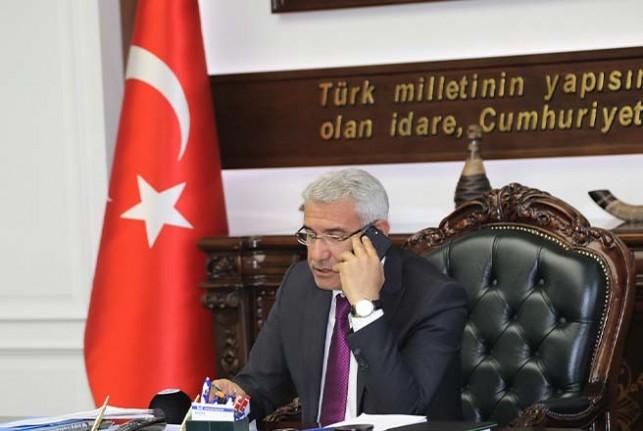 Başkan Güder,'Tekstilkent Projesi'nin Yüzde 25'ini Biz Karşılayacağız'