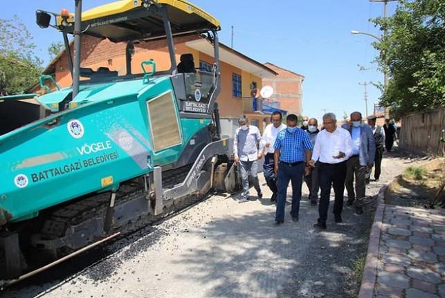 Battalgazi Belediyesi'nden 7 Sokağa 2 Milyonluk Yatırım