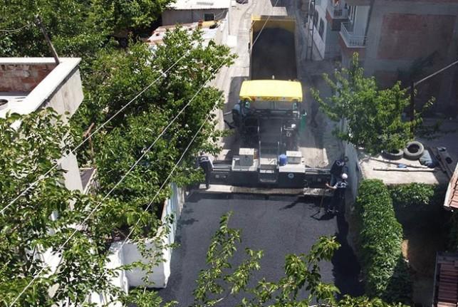 Battalgazi'de Asfaltsız Yol Kalmıyor