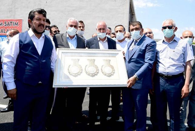 Darende Sanayi Esnafından Başkan Gürkan'a Teşekkür
