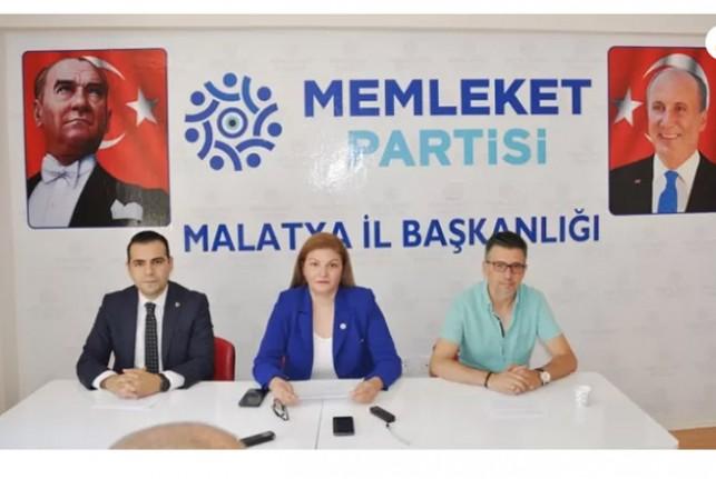 Memleket Partisi Malatya İl Teşkilatı Basınla Buluştu