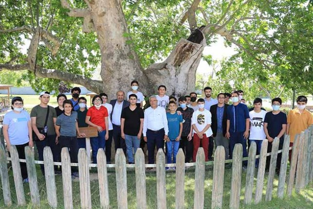 Önderli İmam Hatip Öğrencileri Proje Finalini Battalgazi'de Yaptı