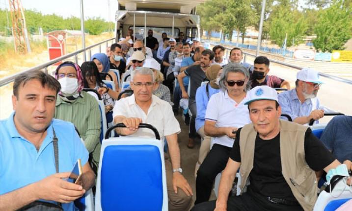 Basın Mensupları Battalgazi'deki Yatırımlara Hayran Kaldı