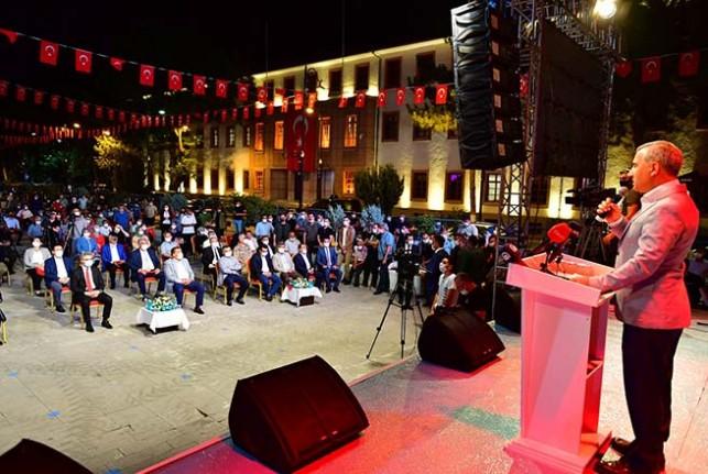 Başkan Çınar'dan 15 Temmuz Demokrasi ve Milli Birlik Günü Mesajı;