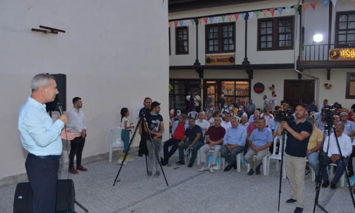 Çırmıktı Lezzet Caddesi 'Yeşilyurt Akşamları' Sokak Konserine Ev Sahipliği Yaptı