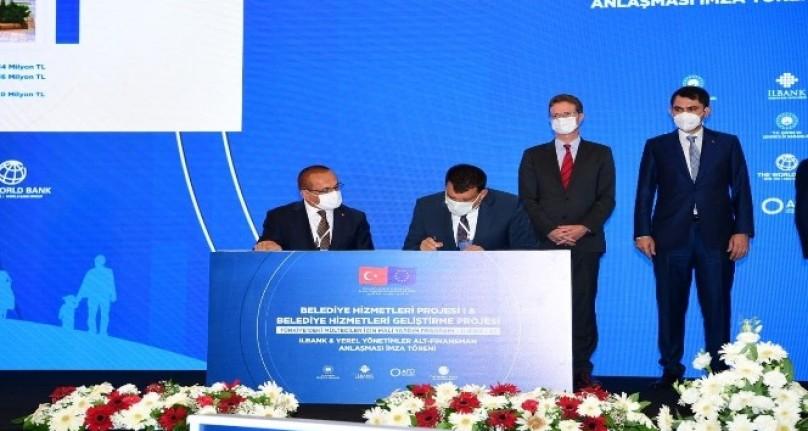 Malatya Büyükşehir alt yapısı için 230 milyonluk büyük destek