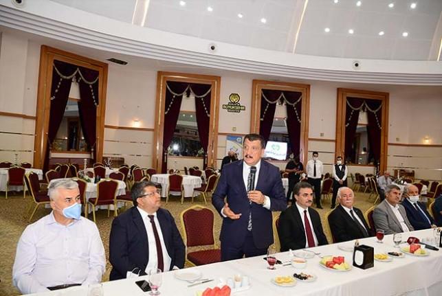 Malatya Büyükşehir Belediyesi Muharrem Ayı İftar Programı Düzenledi
