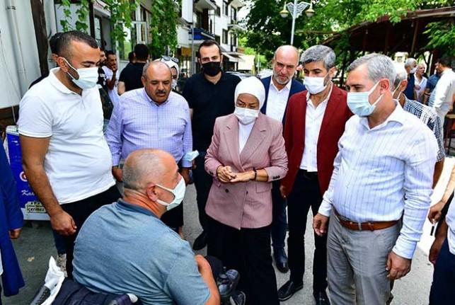 Milletvekili Çalık İle Belediye Başkanı Çınar, Gündüzbey Esnafının Taleplerini Dinledi