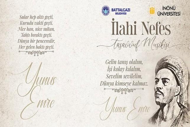 Battalgazi Belediyesi Yunus Emre'yi Anıyor