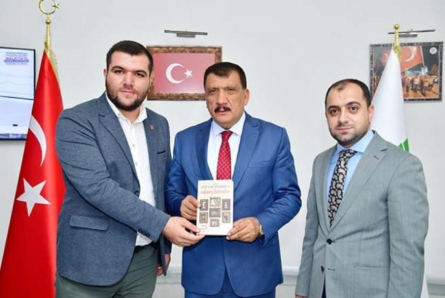 MTTB İl Başkanı Alaman ve Yönetiminden Başkan Gürkan'a ziyaret