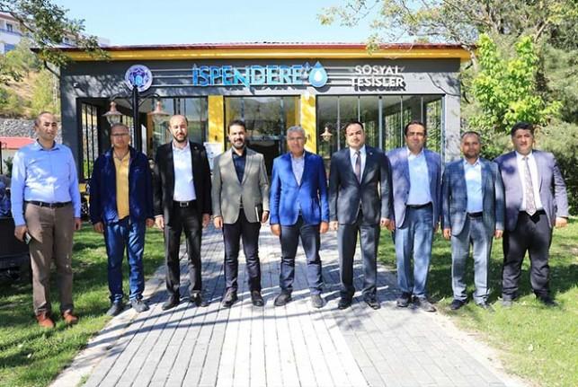 Yeniden Refah Partisi Yönetimi Battalgazi'deki Yatırımları Gezdi