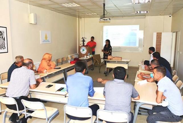 Yeşilyurt Belediyesi'nde 'Sertifikalı İlk Yardımcı Eğitimi' Programları Başladı