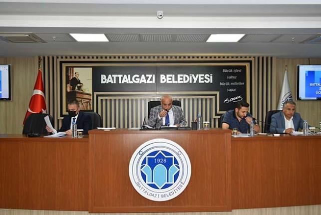Battalgazi Belediye Meclisi, Ekim Ayı Olağan Toplantısının 5.Birleşimi Tamamlandı