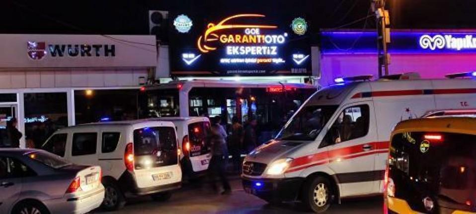 Malatya'da Otobüs Şoförü Direksiyon Başında Kalp Krizi Geçirdi